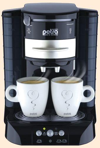 kaffeeautomat petra padissima 3 in 1. Black Bedroom Furniture Sets. Home Design Ideas